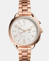 Fossil Hybrid Smartwatch Q Accomplice Rose Gold-Tone