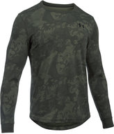 Under Armour Men's Waffle-Texture Long-Sleeve Camo-Print Base Layer Shirt