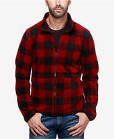 Lucky Brand Men's Buffalo Plaid Lined Shirt-Jacket