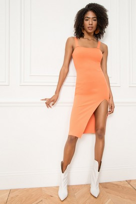 superdown Zoe Square Neck Dress