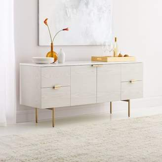 west elm Delphine Buffet - Feather Gray