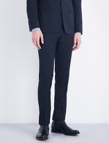 Sandro Tapered slim-fit wool trousers