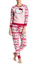 Hello Kitty Polar Fleece PJ Set
