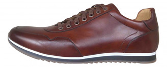 Magnanni Brown Leather Trainers