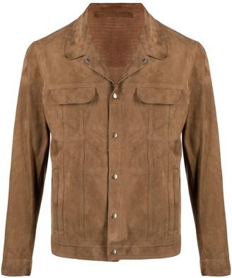 Salvatore Santoro Button-Down Shirt Jacket