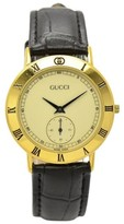 Gucci 3000.2.M Gold Plated 33mm Mens Watch
