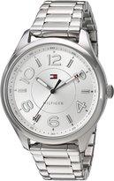 Tommy Hilfiger Women's 1781672 Analog Display Quartz Stainless Steel Bracelet Watch