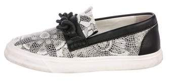 Giuseppe Zanotti Printed Slip-On Sneakers