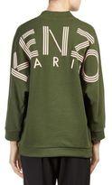 Kenzo Cotton Blend Logo Sweatshirt