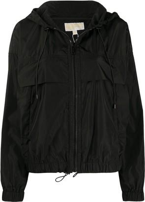 MICHAEL Michael Kors Hooded Shell Jacket