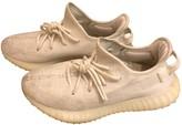 adidas Yeezy X White Cloth Trainers