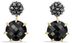 David Yurman Osetra Drop Earrings With Black Onyx, Hematine And 18K