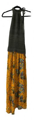 Loewe Yellow Silk Dresses