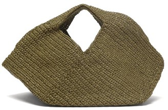 LAUREN MANOOGIAN Mini Pinwheel Woven Bag - Khaki