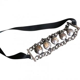 Marni Silver Steel Bracelets