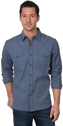 Lee Men's Western-Style Button-Down Shirt