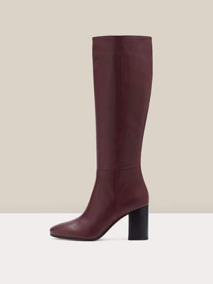 Diane von Furstenberg Reese Leather Knee-High Boots