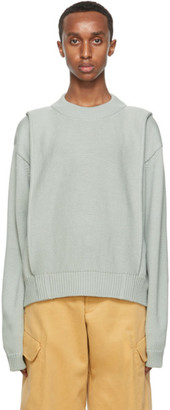 Jacquemus Green Wool La Maille Cavaou Sweater