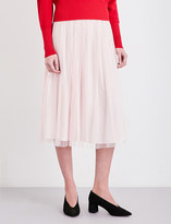 Claudie Pierlot Scarlet lace skirt