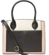 Dorothy Perkins Womens Black Structured Mini Tote Bag- Black