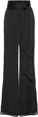 Galvan Corolle high-rise flared pants