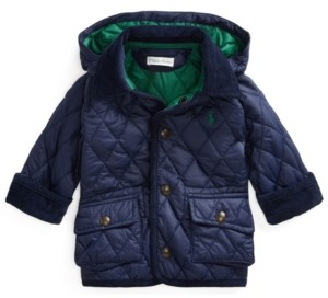 Polo Ralph Lauren Ralph Lauren Baby Boys Water-Resistant Car Coat