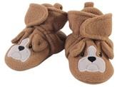 Hudson Baby Newborn Boy or Girl Unisex Animal Fleece Lined Booties