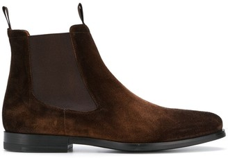 Santoni suede boots