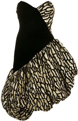 Bob Mackie Vintage 1980's balloon dress