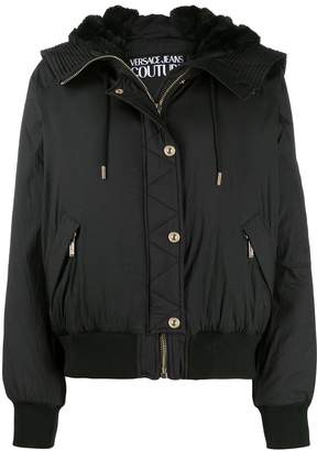 Versace zipped-up bomber jacket