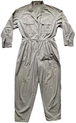 Cacharel Khaki Cotton Jumpsuits