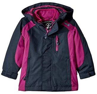 Kamik Seraphina Polar Jacket (Infant/Toddler/Little Kids/Big Kids) (Charcoal Berry/Charbon Baies) Girl's Coat