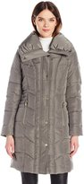 Kenneth Cole New York Women's Pillow Collar Down Puffer