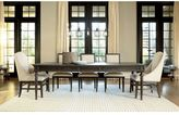 Universal Furniture Berkeley 3 Tribecca Leg Table in Brownstone Finish