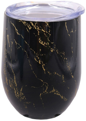 Oasis Stainless Steel Double Wall Insulated Wine Tumbler 330ml - Gold