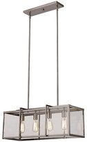 TransGlobe Lighting Boxed 4-Light Kitchen Island Pendant