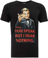 Dom Rebel You Speak But I Hear Nothing T-shirt