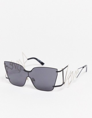 Jeepers Peepers sunglasses with love detail