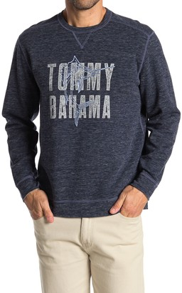 Tommy Bahama Maritime Marlin Flip Crew Neck Pullover