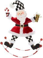 Mackenzie Childs Rocking Santa Ornament