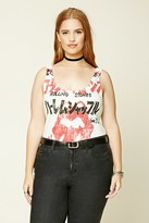 Forever 21 FOREVER 21+ Plus Size Graphic Bodysuit