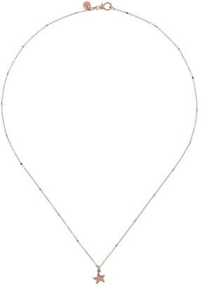 Dodo 9kt Rose Gold Mini Star Pendant Necklace