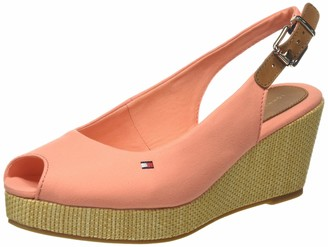 Tommy Hilfiger Women's Iconic Elba Sling Back Wedge Open Toe Sandals