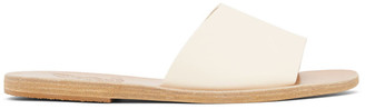 Ancient Greek Sandals Off-White Taygete Sandals