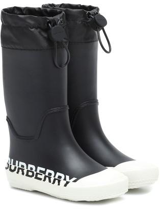 BURBERRY KIDS Larkhall rain boots