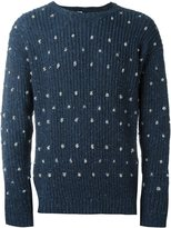E. Tautz crew neck jumper with knots