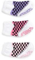 Vans Infant Girls Classic Slip-On Sock 3 Pair Pack