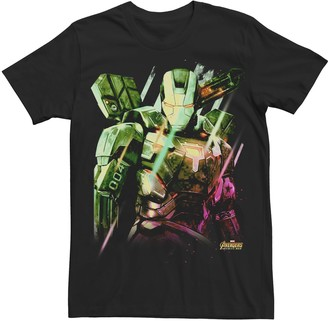 Men's Marvel Avengers Infinity War War Machine Graphic Tee