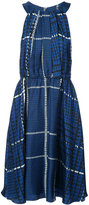 Oscar de la Renta gathered bodice dress - women - Silk - 2