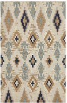 Natural Ikat Rug, 8 x 10, Multi